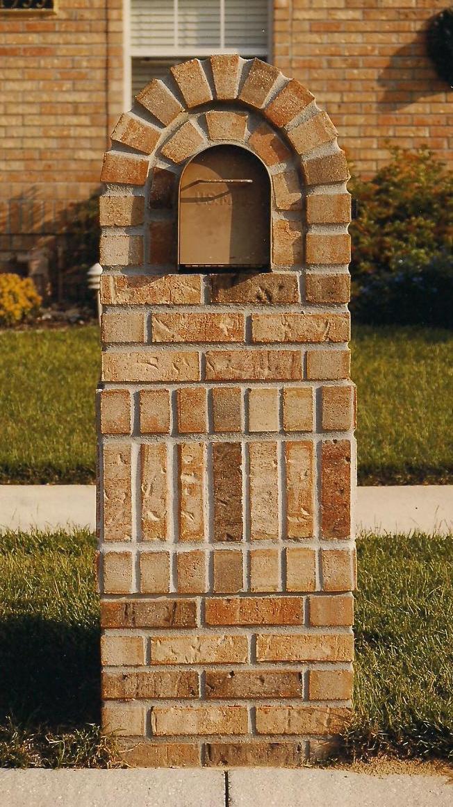 Brick Mailboxes