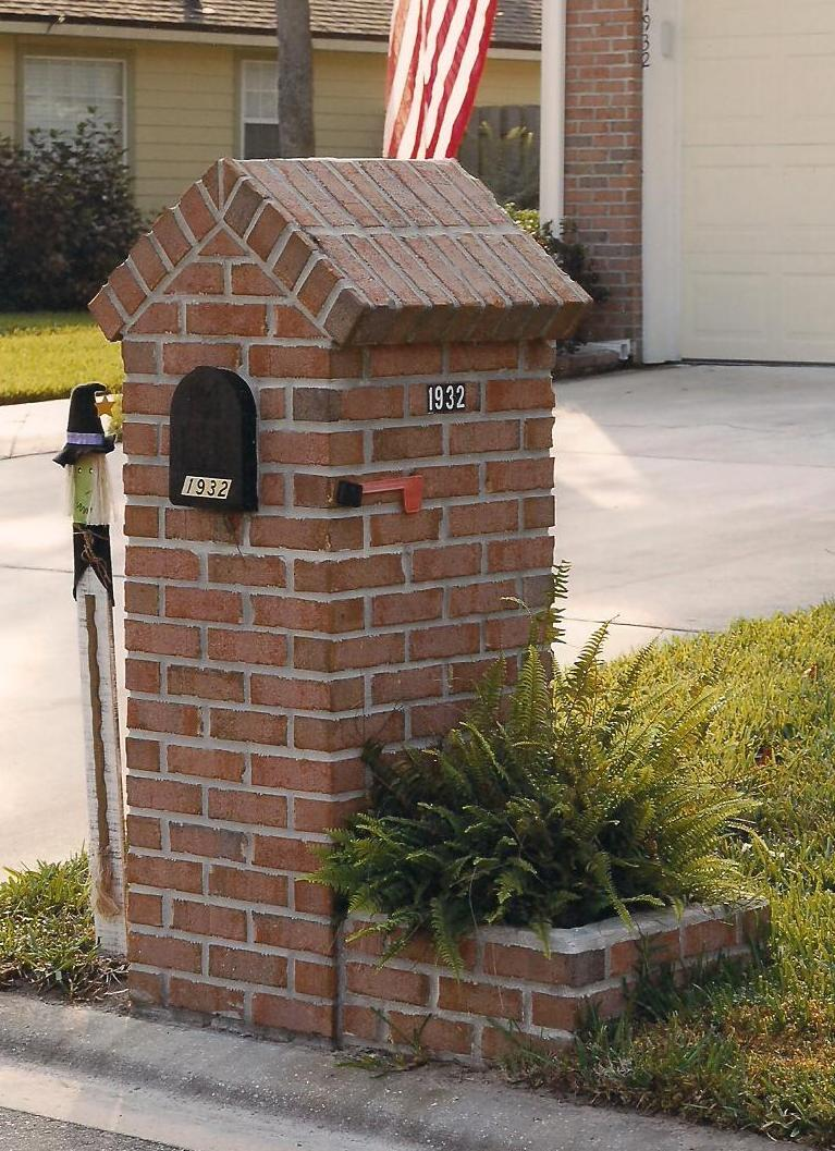 Brick Mailboxes